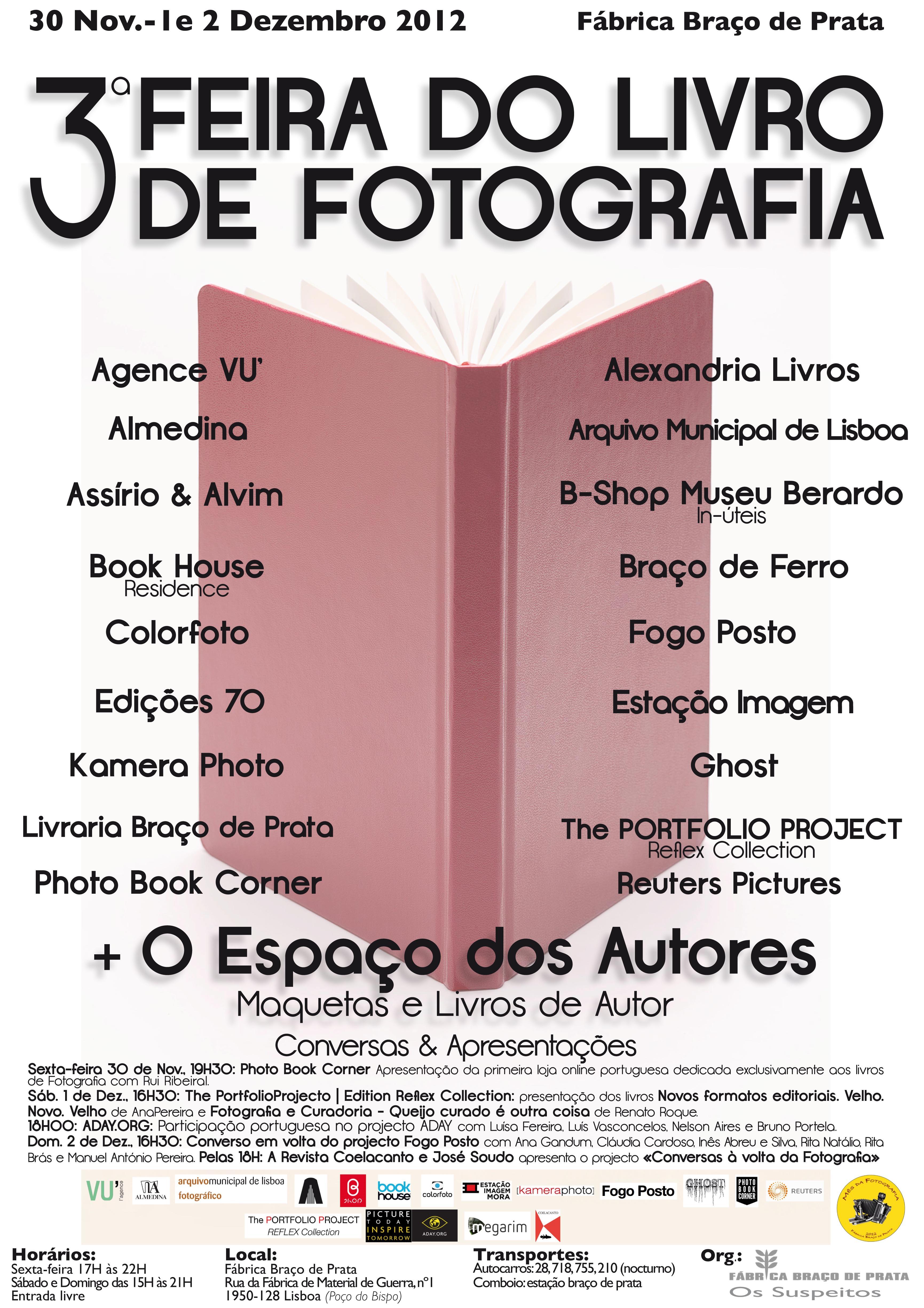 Cartaz Feira do Livro de Fotografia 2012ok