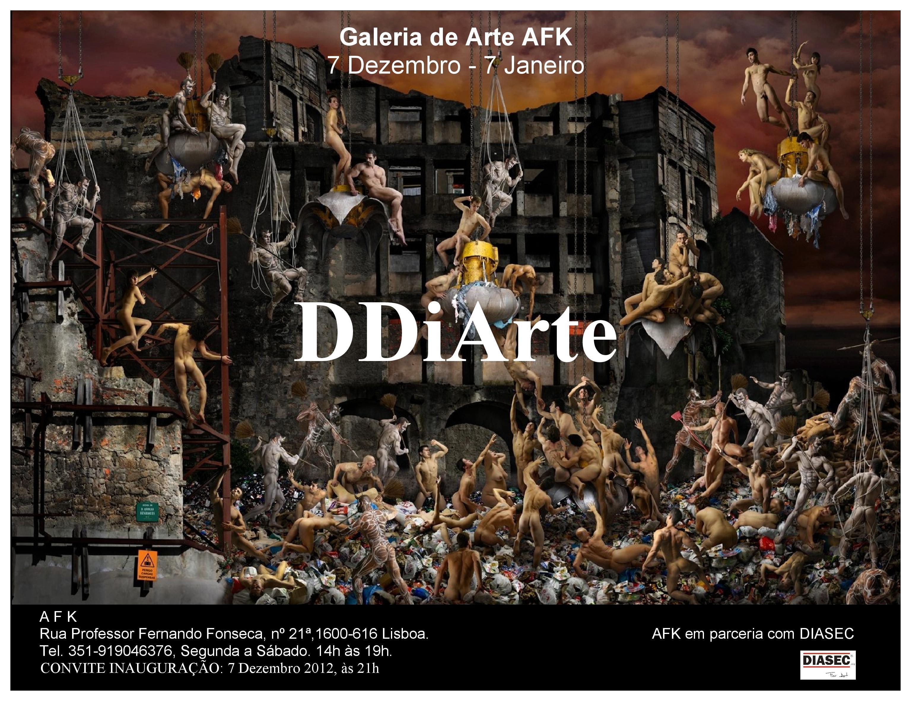 Exposição Fotografia DDiArte. Galeria de Arte AFK
