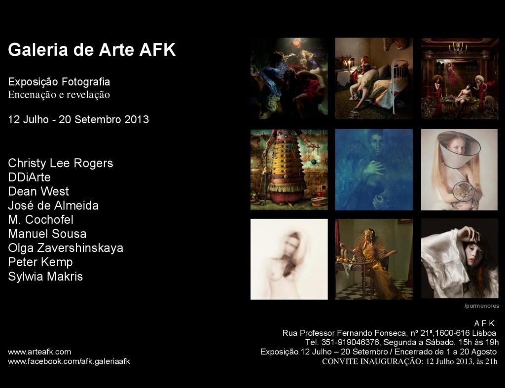 Galeria de Arte AFK Convite Exposição Fotografia