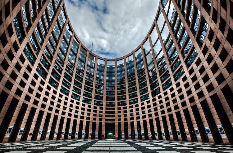 Parlamento Europeu em Estrasburgo, França