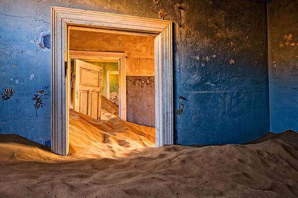 Kolmanskop, Namíbia © Chris Gray