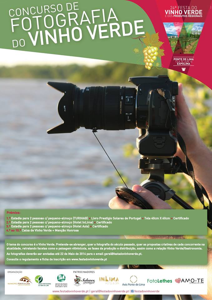 Concurso de Fotografia do Vinho Verde