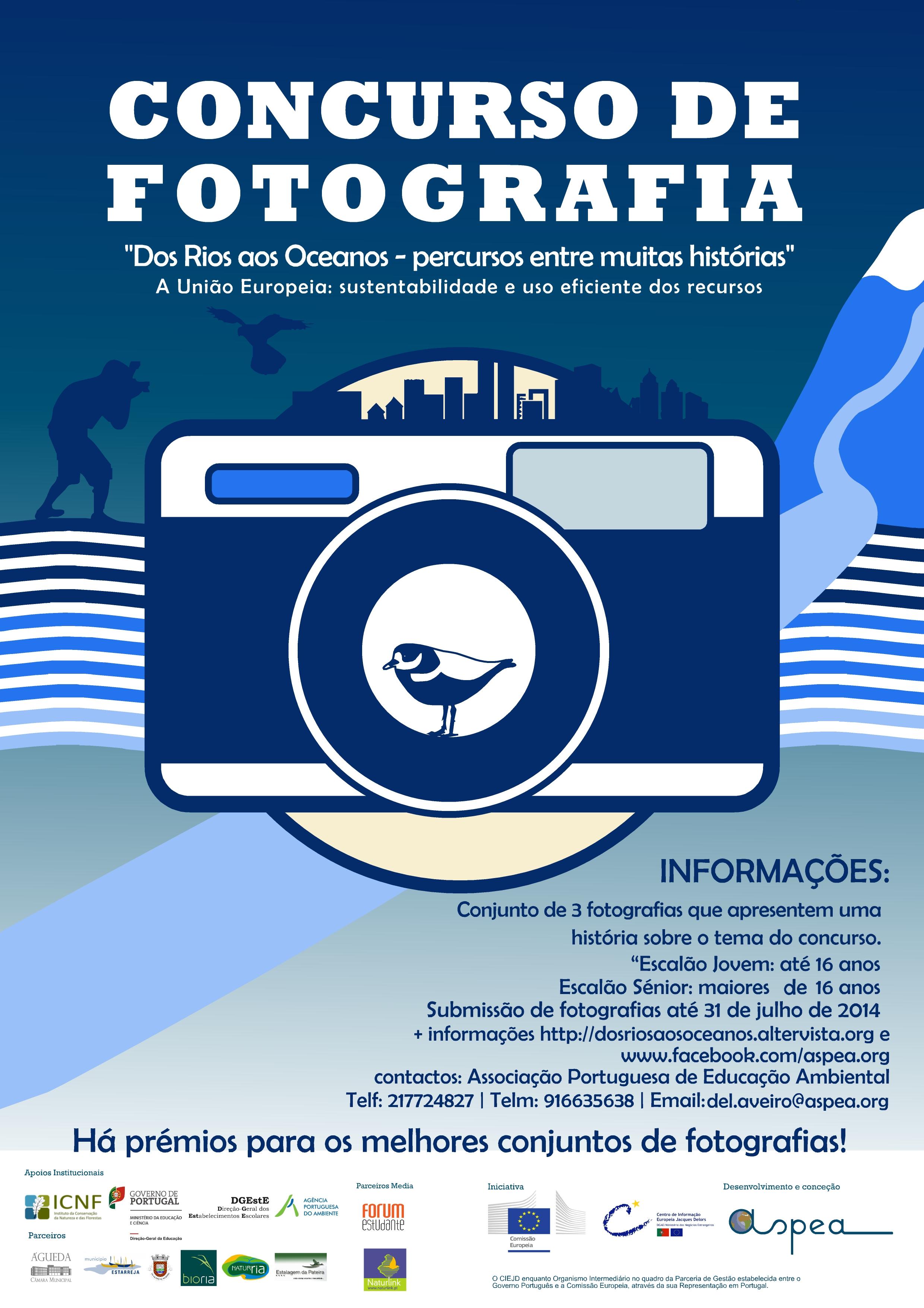 Concurso de Fotografia - Dos Rios aos Oceanos