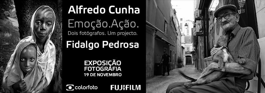 Exposição de Fotografia: Emoção.Ação. de Alfredo Cunha e Fidalgo Pedrosa
