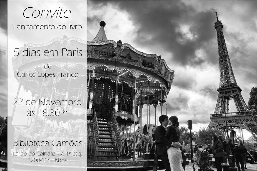 5 dias em Paris © Carlos Lopes Franco