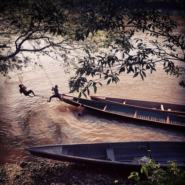Misha Vallejo, Ecuador, 'River play'