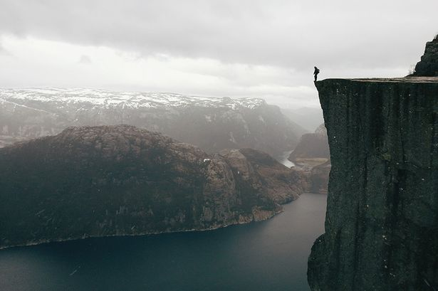 Atle Rønningen, Norway , 'On the edge'