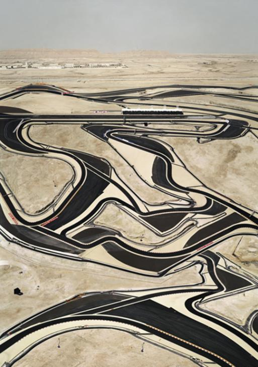 Bahrain I 2005 by Andreas Gursky born 1955