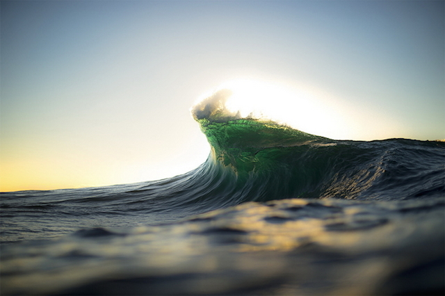 Backlit Peak - Ray Collins