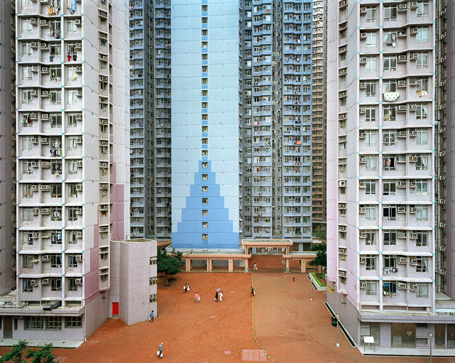 Urban Renewal #6 - Apartment Complex, JiangjunAo, Hong Kong, 2004