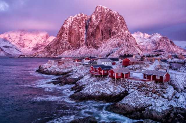 Lofoten Islands in Norway, photo by Kristin Repsher.