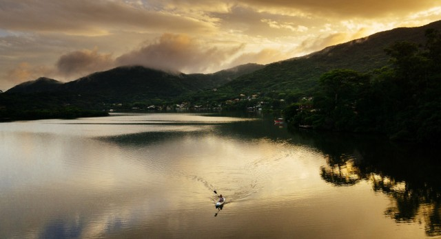 Lagoa da Conceição in Brazil, photo by Chris Schmid.