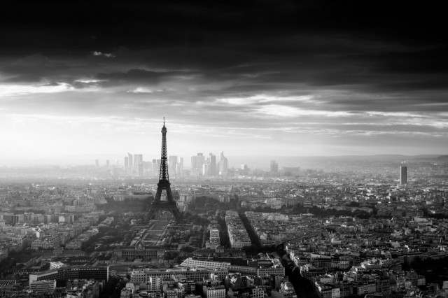 Paris viewed from Montparnasse, photo by Jaco Marx.