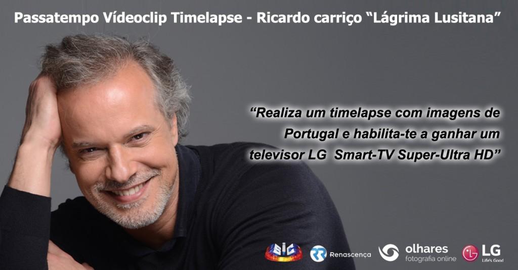 """Ricardo carriço - Passatempo """"Lágrima Lusitana"""""""