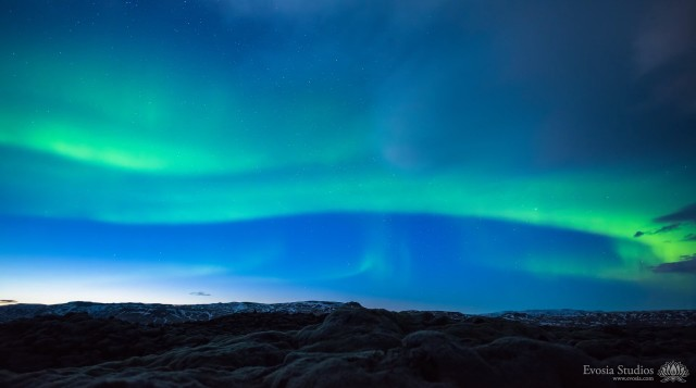 Northern Lights Time-Lapse Video
