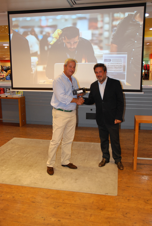 3.º Prémio: Luís Filipe Semedo    FUJIFILM XQ2; Jantar para 2 no restaurante do El Corte Inglés; 1 Assinatura digital à escolha do Grupo Impresa (1 ano)