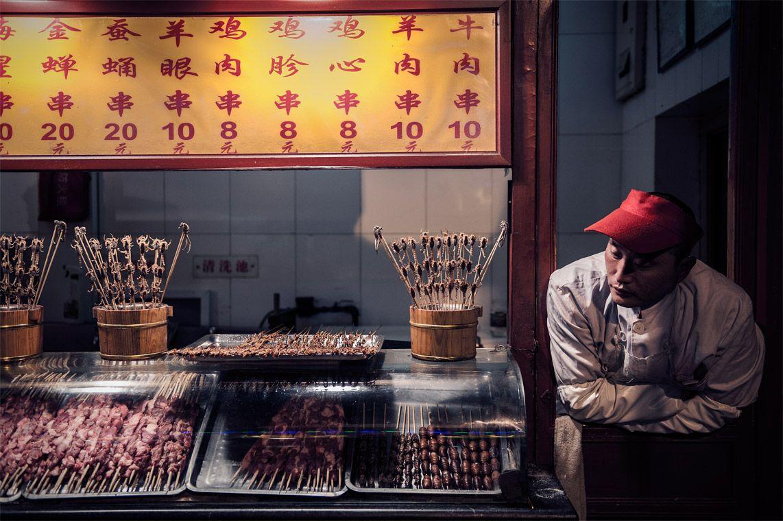 """""""Oriental Fast Food"""", vencedora da categoria """"23h00"""", foi tirada por Marcos Sobral em Pequim, na China"""
