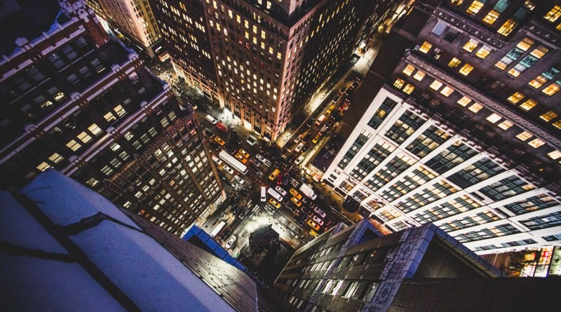 """""""Encruzilhadas"""", a fotografia, tirada em Nova Iorque, ganhou a categoria das """"04h00"""""""