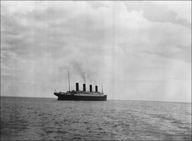 A última Foto do Titanic, 1912.