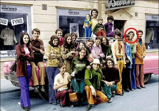 Osama Bin Laden de férias com a sua família, Suécia, 1970.