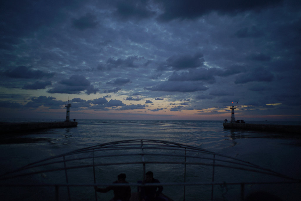 SIDE, TURKEY 1/15/2015 The Gulf of Antalya in the eastern Mediterranean Sea, one of many departure points for Syrians headed to Europe.  Ayman Oghanna for The New York Times