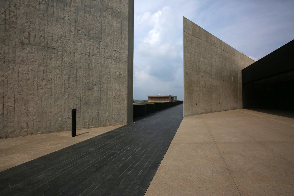 SHANKSVILLE, PA. 9/3/2015 A new visitor center and museum told the story of Flight 93, forced down by passengers after it was hijacked by terrorists on Sept. 11, 2001. Nicole Bengiveno/The New York Times Share Tweet