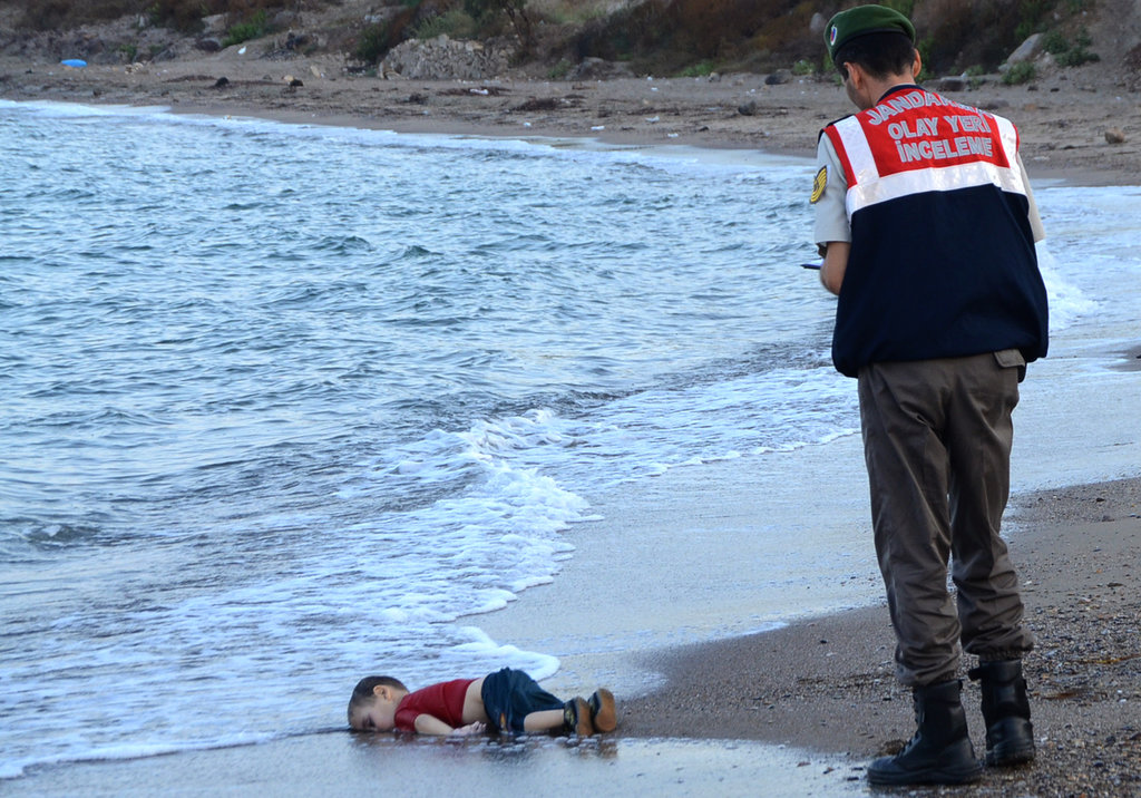 BODRUM, TURKEY 9/2/2015 Aylan Kurdi, the Syrian toddler whose drowning off the coast of Turkey drew public sympathy to the refugee crisis. Nilufer Demir/Dogan News Agency, via Agence France-Presse — Getty Images