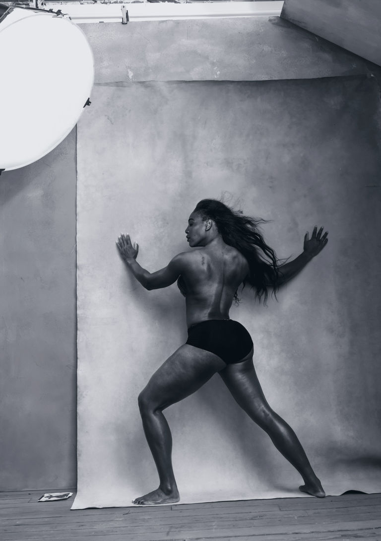 Abril, Serena Williams.