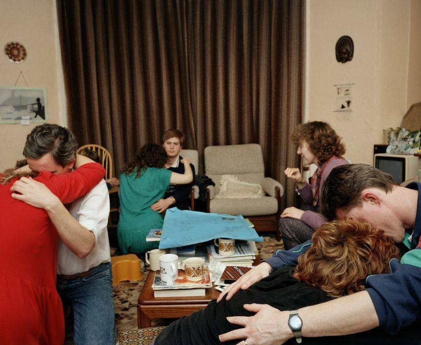 GB. England.  Ante natal class.  From 'The Cost of Living'.  1986-89 © Martin Parr/Magnum Photos