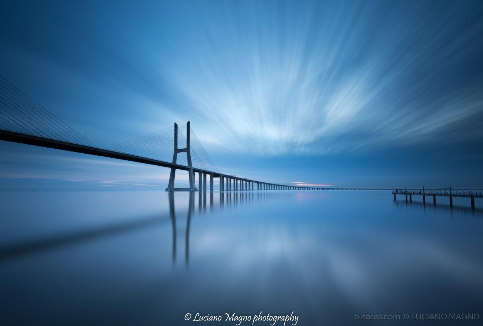 © Luciano Magno - bridge in blue
