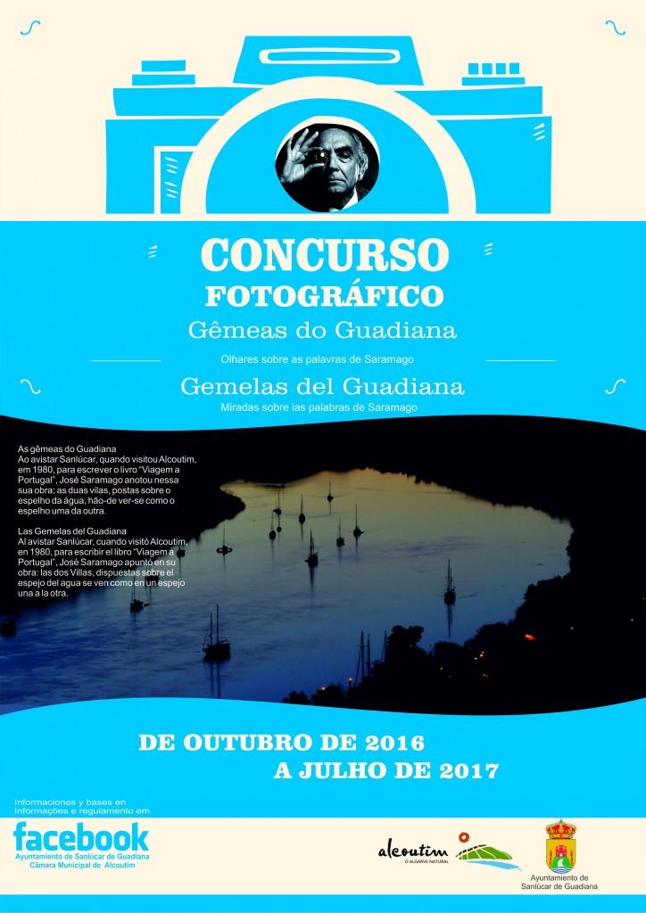 Cartaz concurso gemeas do guadiana