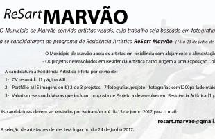 Residência Artística ReSart Marvão – candidaturas até 15 de junho