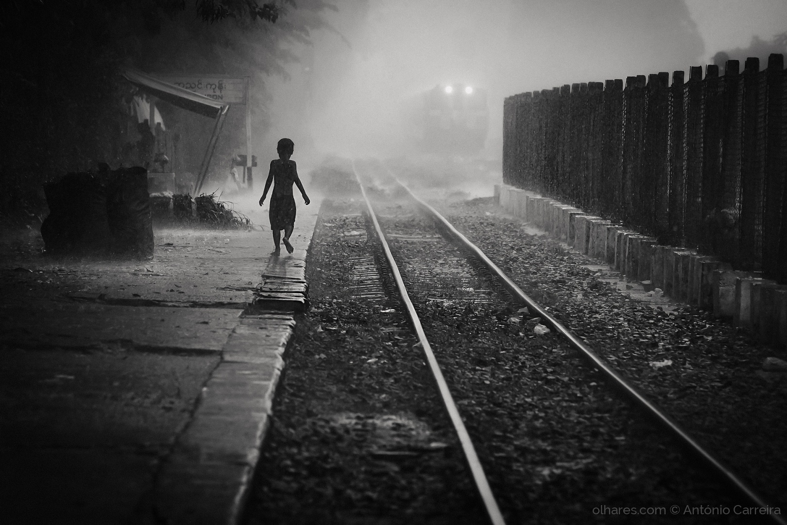 © António Carreira - The rain rails
