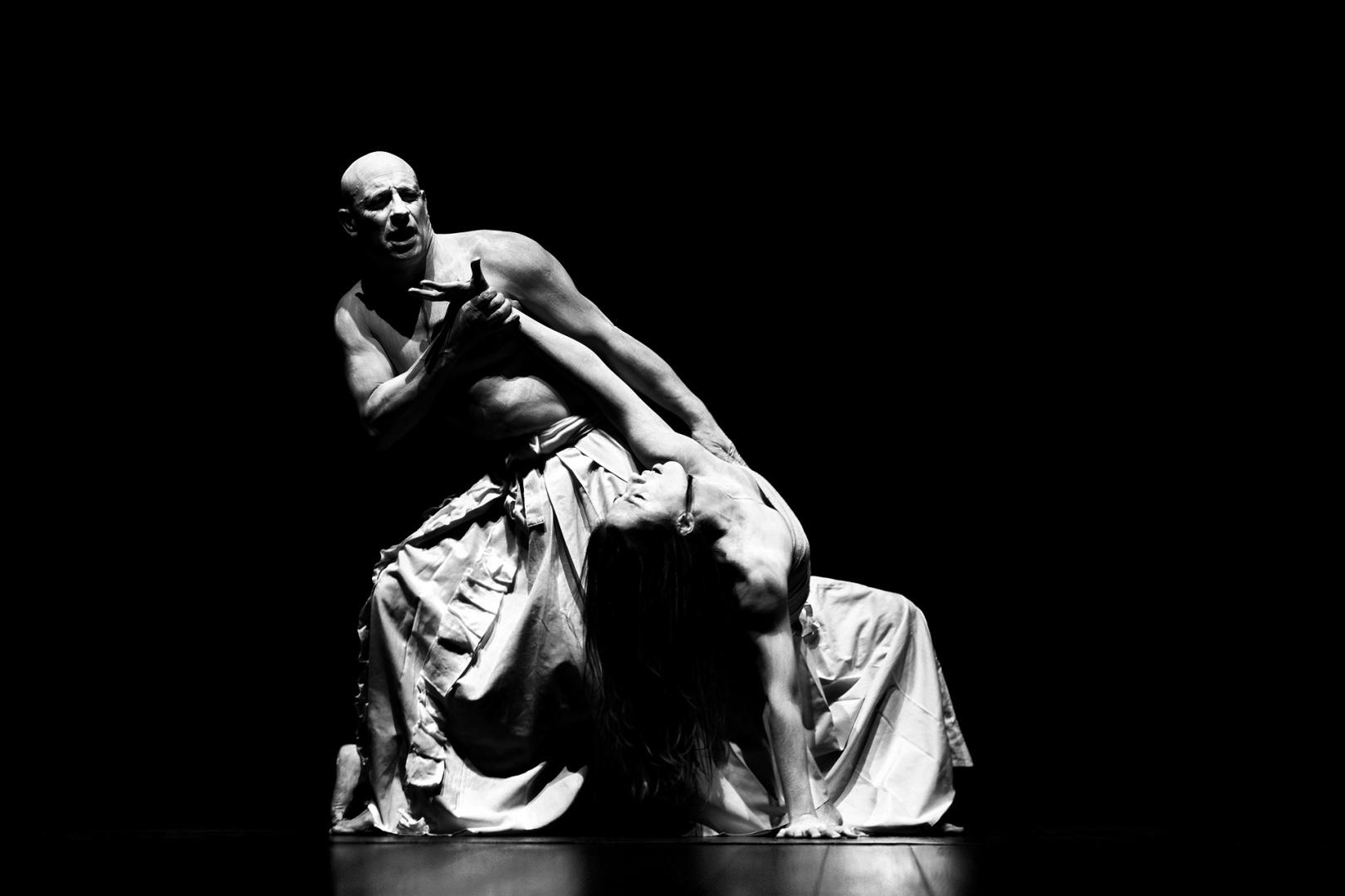 © Maria do Carmo -  Butoh - (teatro/dança)