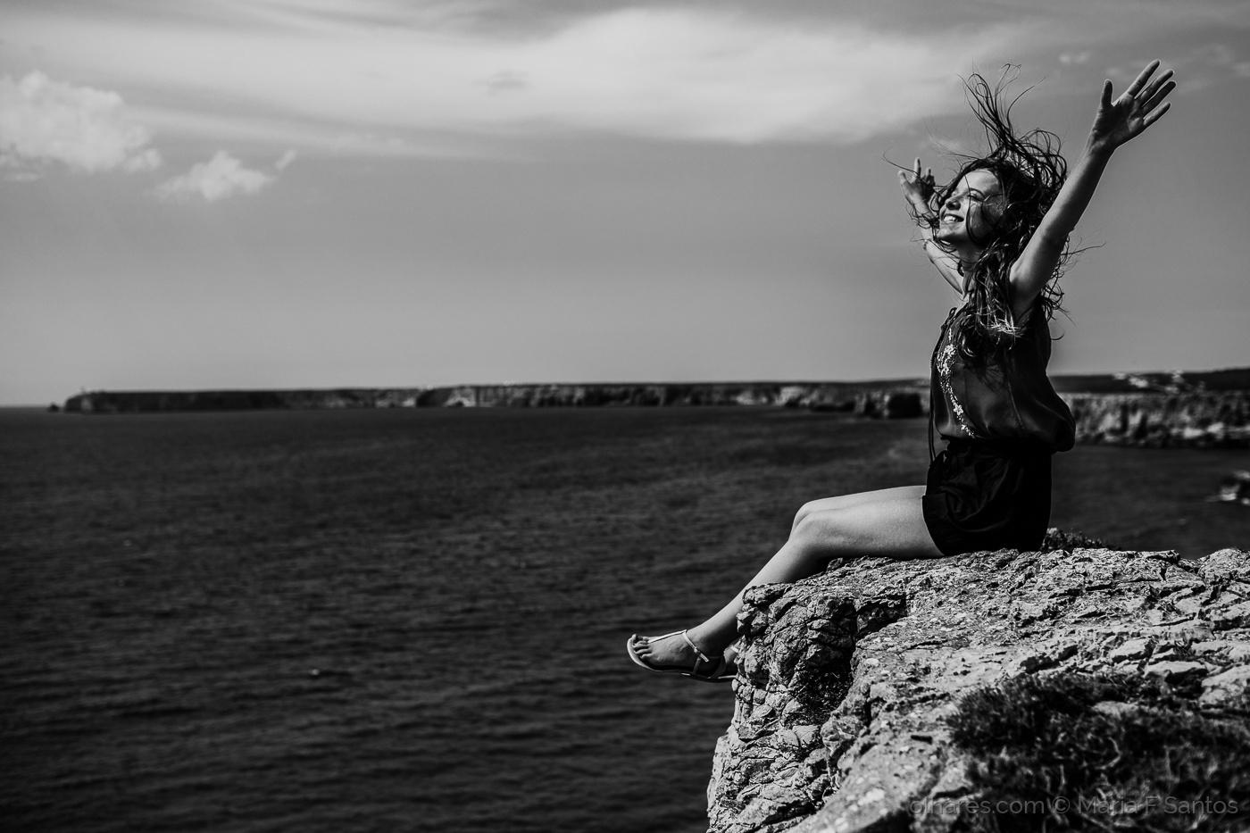 © Maria F Santos - Felicidade é..., liberdade.