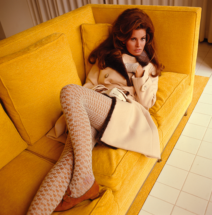Raquel  Welch,  Vogue  britânica,  1967  ©  Norman  Parkinson  Archive  /  Courtesy  Iconic  Images