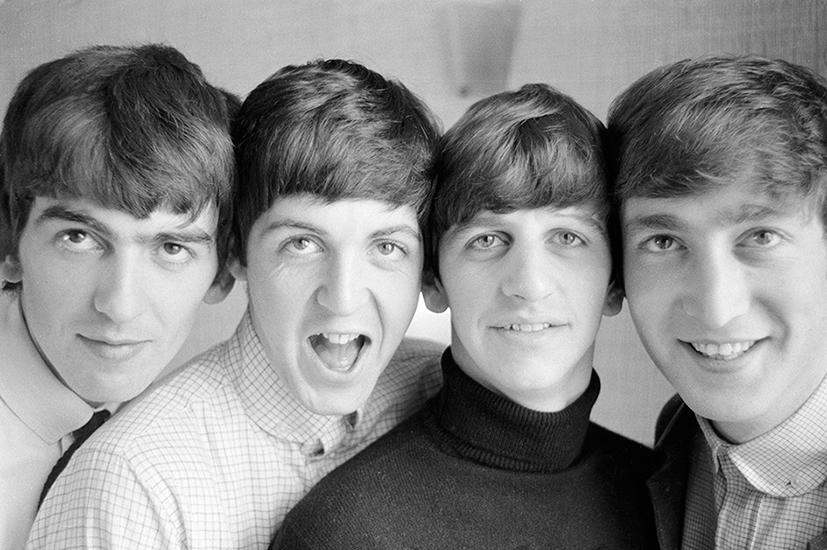 Os  Beatles,  12  de  setembro  1963  ©  Norman  Parkinson  Archive  /  Courtesy  Iconic  Images