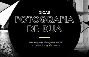 Dicas de Fotografia de Rua