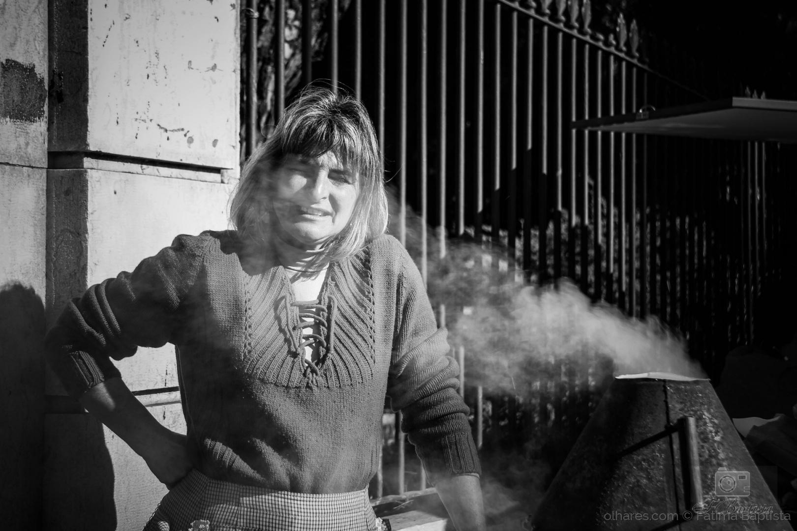 © Fátima Baptista - O Fumo não lhe esconde o sorriso