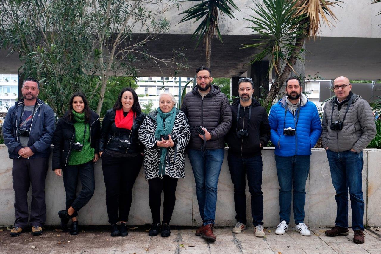 Fotografia de Grupo durante o Curso de Iniciação oferecido pela fujifilm