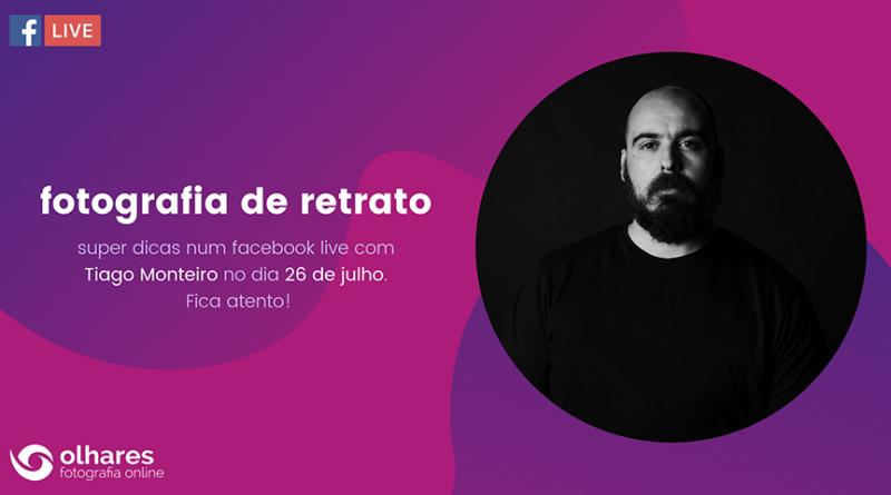 Super Dicas com Tiago Monteiro – Fotografia de Retrato
