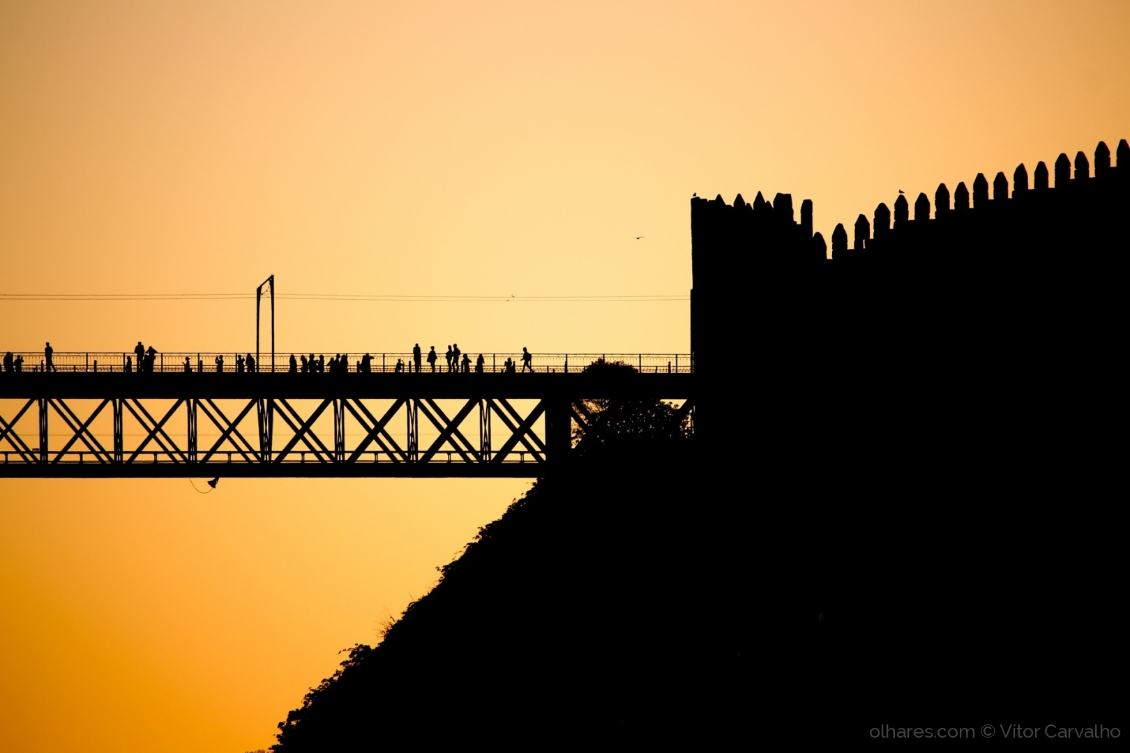 © Vítor Carvalho - O Muro E A Ponte