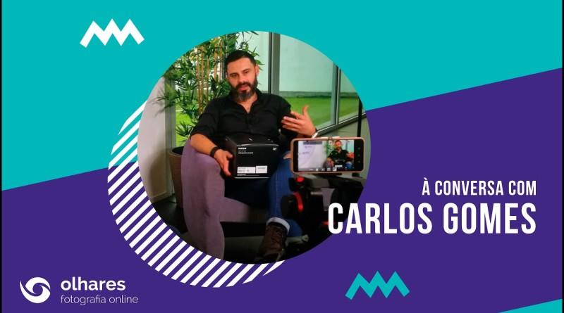 à conversa com Carlos Gomes | Youtube