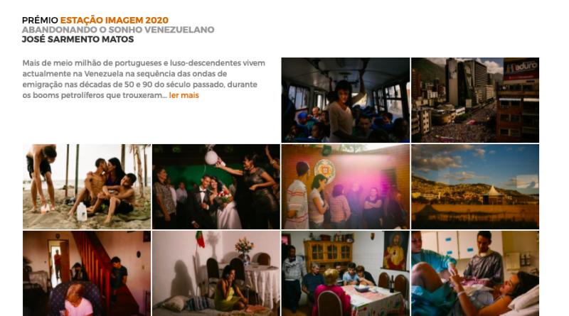 Vencedores do Prémio Estação-Imagem 2020 Coimbra