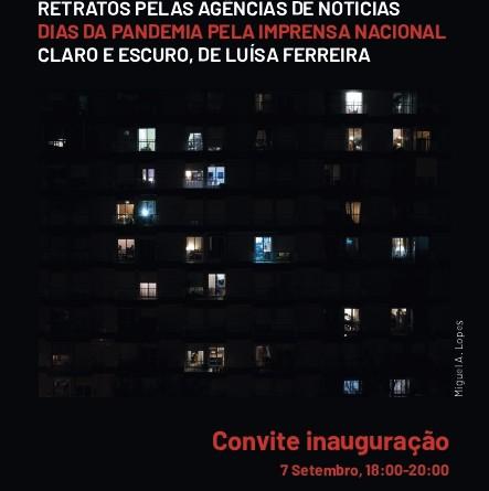 Exposição Fotográfica e Multimédia DIÁRIO DE UMA PANDEMIA