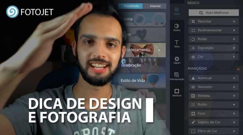 Fotografia entre o design gráfico e o design de interface?