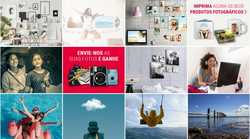 """Exposição Digital de Fotografia Fujifilm """"printlife@home"""" com prémios semanais"""